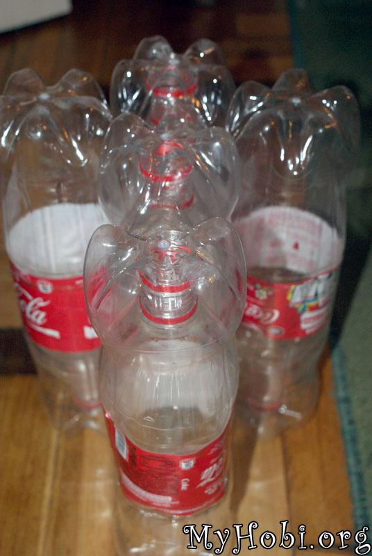 делаем 10 таких бутылок