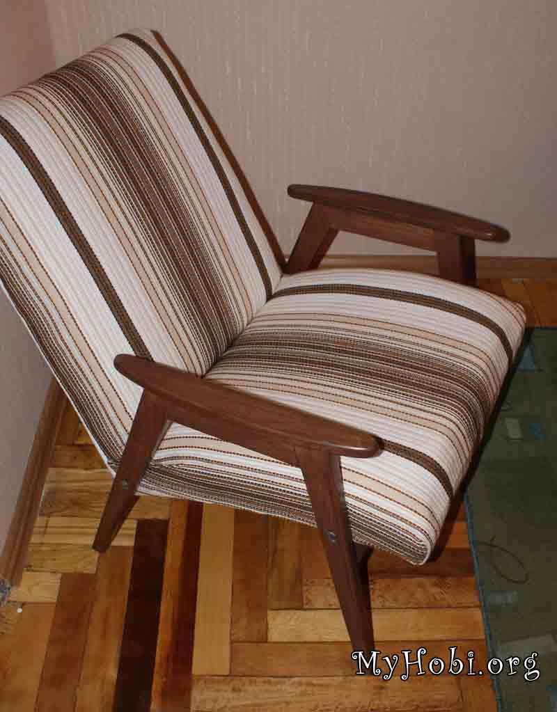 Как реставрировать кресло своими руками