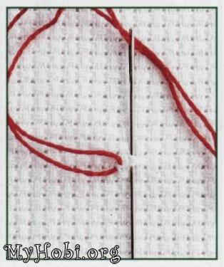 Вышивка крестом - Урок 1