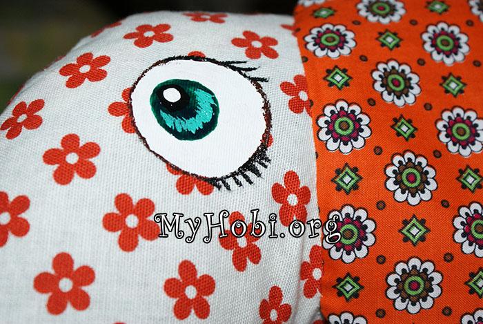 рисуем глаза игрушке