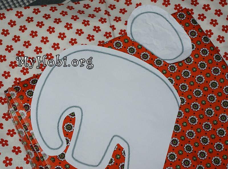 шьем подушку слона своими руками