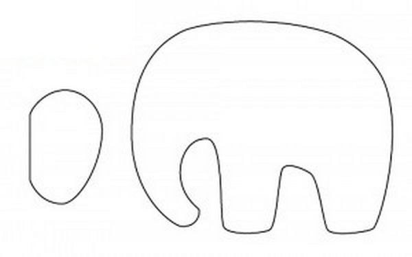 тильдо слон выкройка