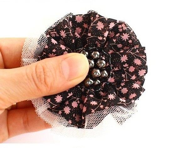 Резинки для волос своими руками ткань фото 201