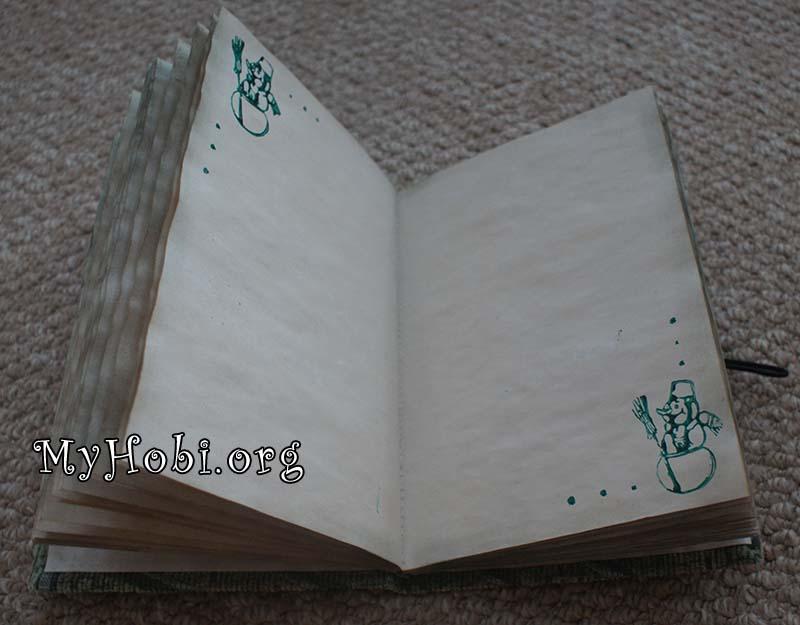 Листы для блокнота своими руками из 70