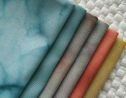 Вышивка крестом по канве на ткани