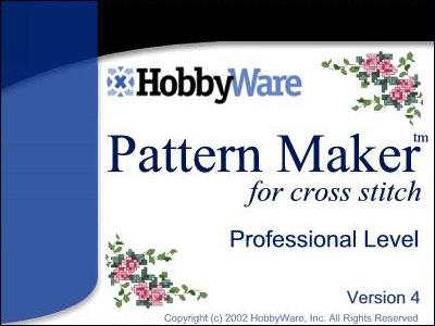 Программа для создания схем для вышивки PatternMaker