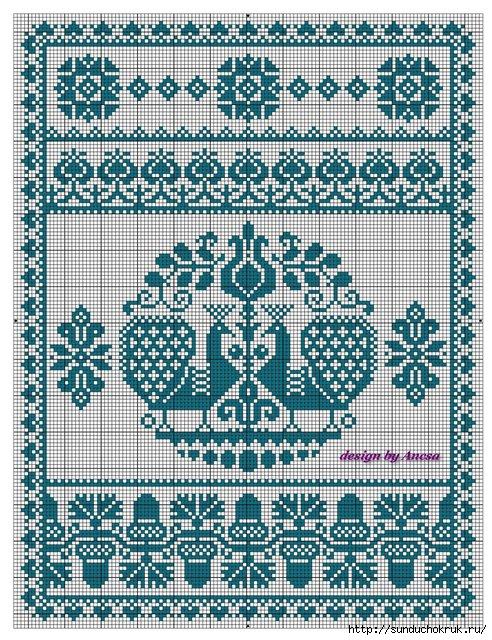 Символика цвета вышивки