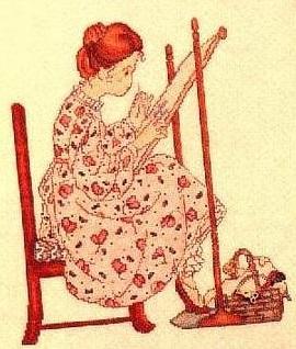 Приметы в вышивке павлин