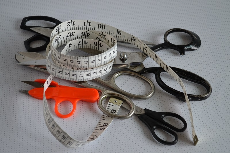 ножницы для рукоделия, виды, способы использования - статья