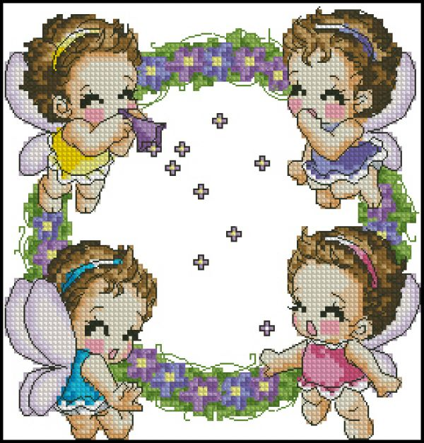 Soda S10-472 Angels Wreath