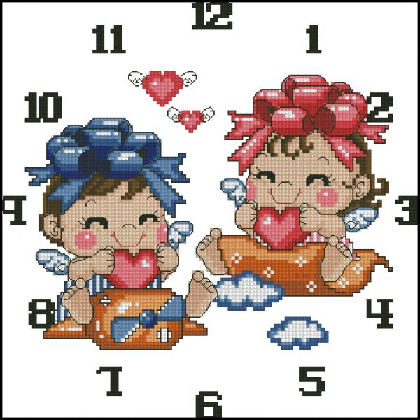 Clock Little Angels