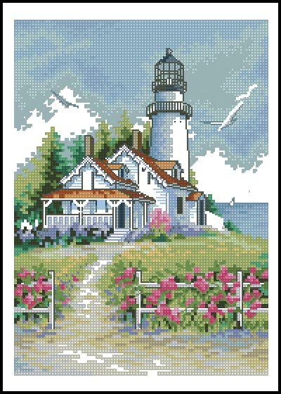 Scenic Lighthouse