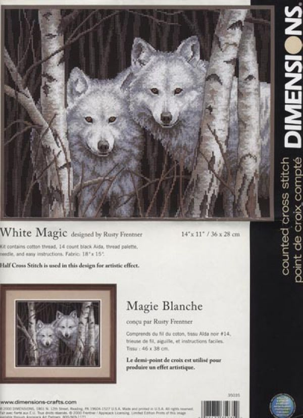 Dimensions35035-WhiteMagic