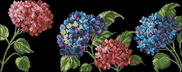 Anchor Maia 567800-01010 Moonlight Hydrangea