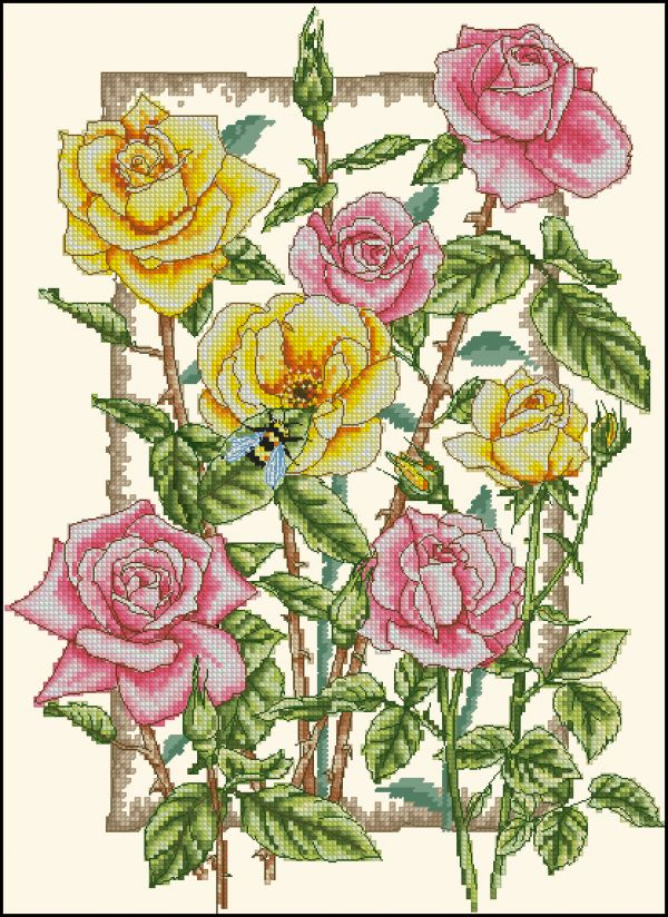 Anchor PCE938 Rambling Roses