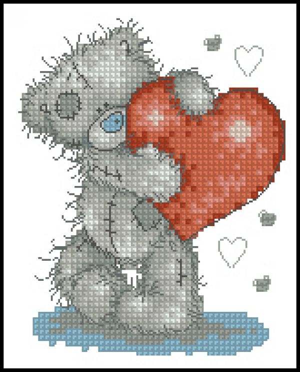 Anchor TT02 Tatty Teds Hearts