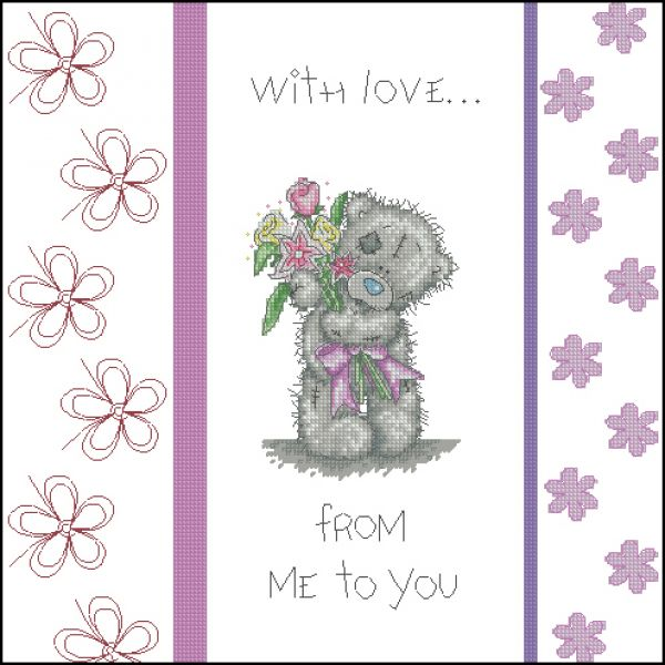 Anchor TT203 Tatty Teddy With Love Cushion