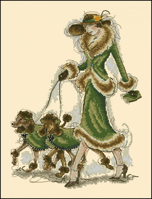 Anchor MaiaCS 5678000-01070 Prancing Poodles BS