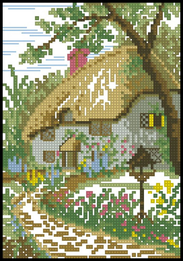 Thatched Country Cottage