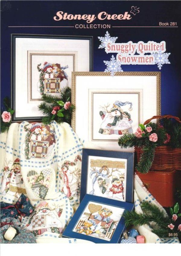 SC-B281 Snuggly Quilted Snowmen1