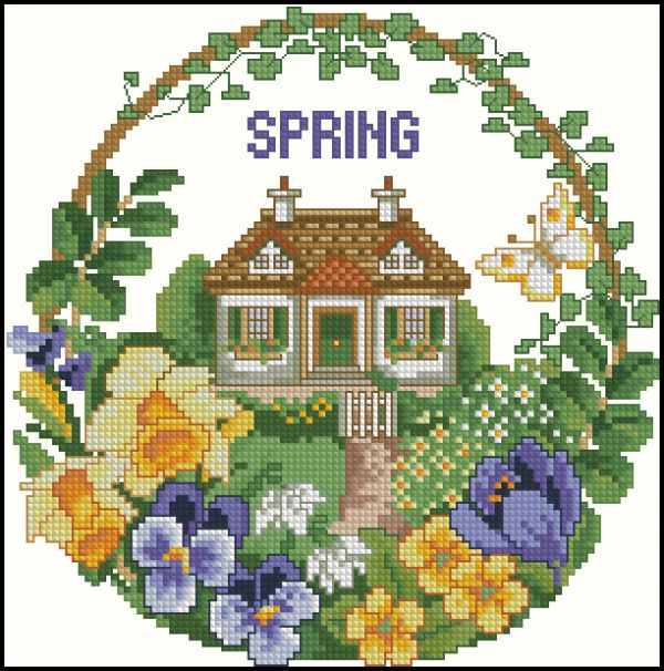 Cottage in Spring
