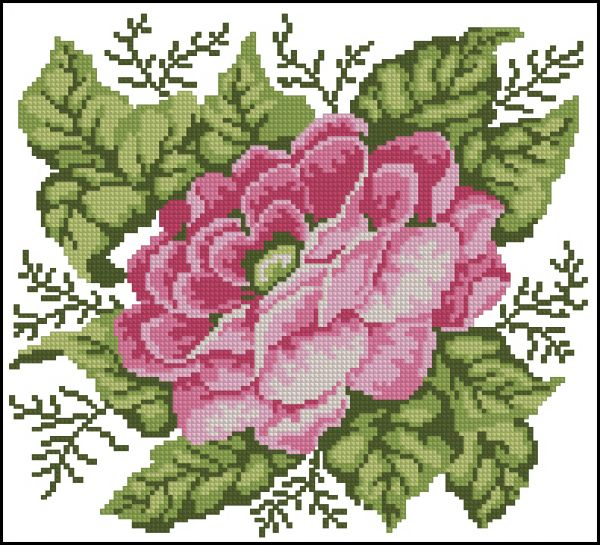 ChM 2004-01 Rose Pillow I