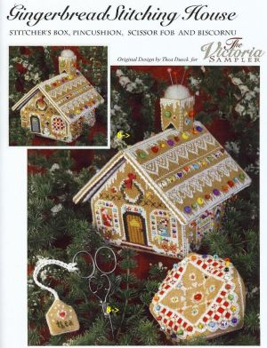 Gingerbread Stitching House