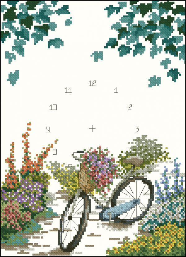 bicycle&flowers