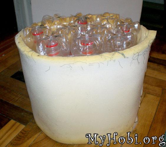 Пуфик для дачи из пластиковых бутылок. Как самому сшить кресло мешок? рекомендации, сделай сам, чертежи, статьи