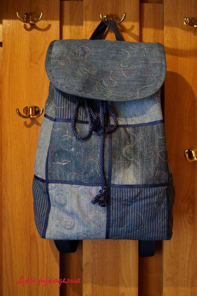 606b92d3a01f Как сшить рюкзак своими руками из старых - fs-center.ru