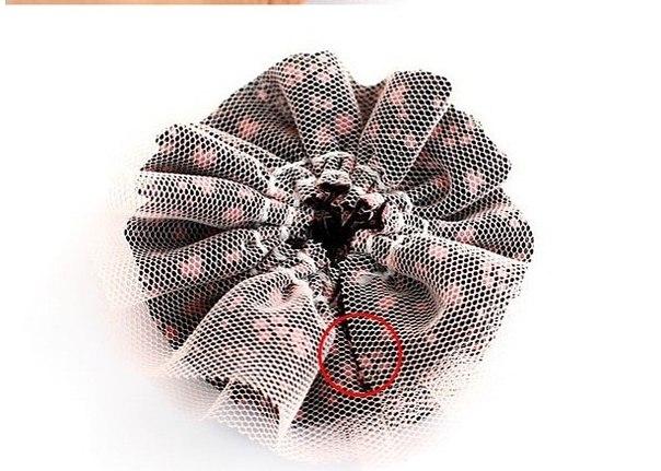 Резинки для волос своими руками ткань фото 342