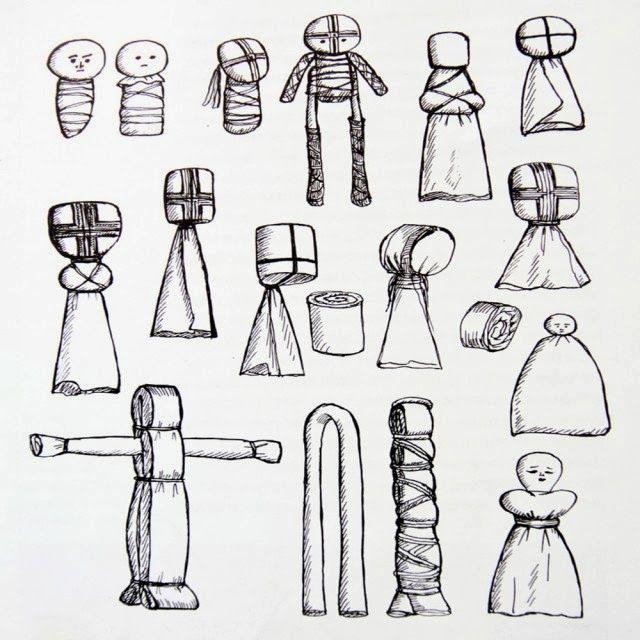 Садовые фигурки из полиэтиленовых паакетов (целлофана)