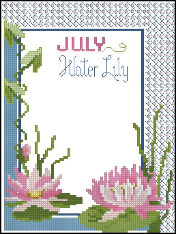 ASN8640 A Year of Flowers July