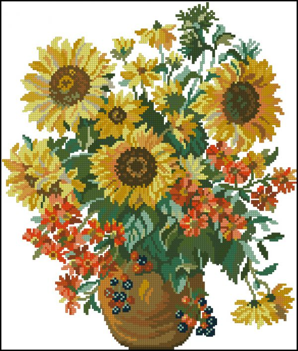 Burda Sunflowers