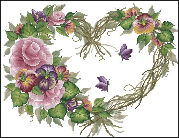 Bucilla 43092 Grapevine Wreath with Floral