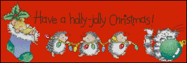 CS2007-13 Holly-Jolly Christmas