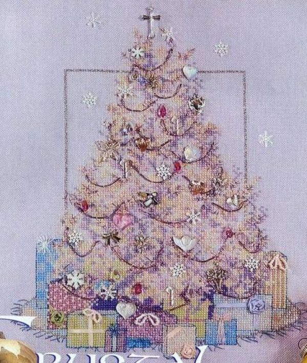 Stitcher's World Crystal Tree