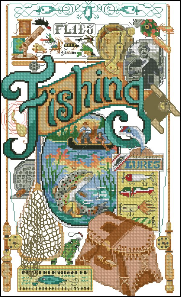 42561 Fishing Nostalgia